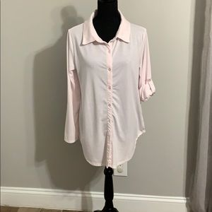 Lularoe Valentina Button Down Shirt